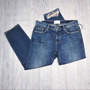 Current/Elliott NEW | Repaired Fling cropped jeans